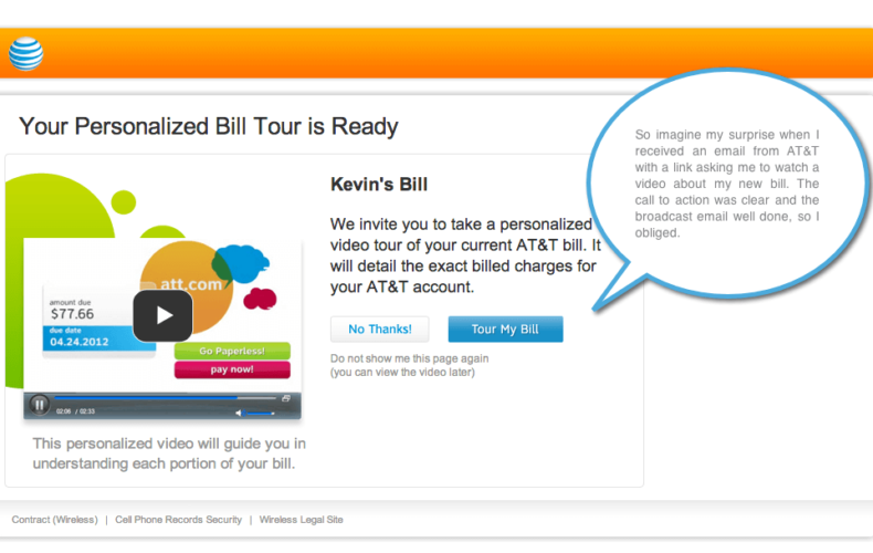 How to Send a Personalized Bill to Your Customer