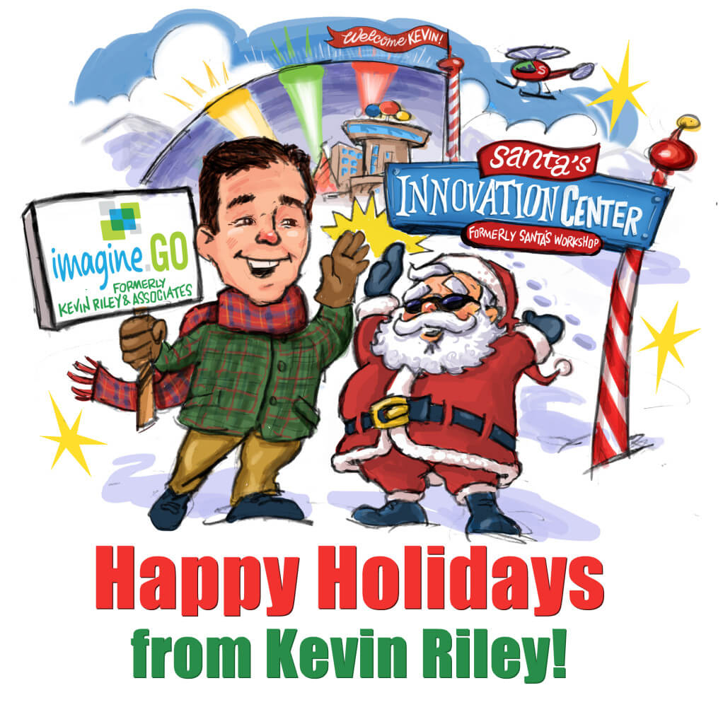 2014 Happy Holidays from Kevin Riley and imagine.GO
